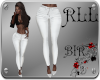 [BIR]Pants *white
