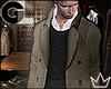 GL| Pea Coat & Sweater