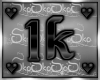 1k SUPPORT STICKER