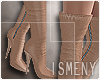[Is] Suede Boot Nude RLL