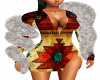 Native Dress & Boa S