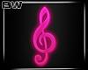 DJ Pink Neon Music Effec
