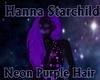 Neon Purple Hair