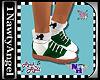 (1NA) Saddle Shoes Green