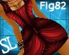 [sl]Goth Dress Fig82 Red