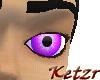 Dark Purple Eye