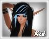Kat   Loren black blue