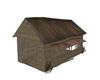 Poseless wood shed