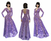 Ziadnakad purple prom