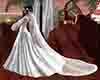 medieval wedding veil -3