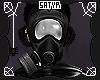 Black Gas Mask F
