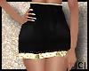 |B|Gold Skirt Hw