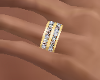 S Gold Band Diamonds