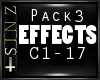 l EFFECTS PACK 3 l