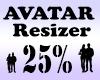Avatar Scaler 25% / M