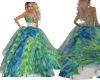 Green Ballroom Gown