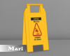 !M! Caution Sign