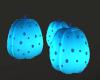 Blue Neon Pumpkins