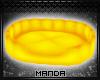 .M. Yellow Pet Bed