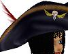 Pirate Hat - Black hair