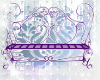 Purple Wedding bench