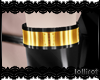 .L. Hinge Cuff Gold L