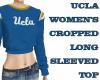 UCLA CROPPED SWEAT SHIRT