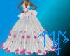 )L( AKA debutante gown
