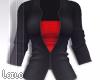 ! L! Black Red Jacket