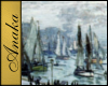 Monet, Boats Painting