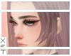 ✘ Katis bangs burgundy