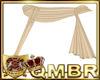 QMBR Shawl Gold Sheer