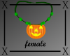 .X. Pumpkin Necklace F