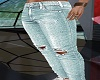 Blue jeans rippers