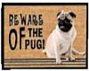 Pug door mat