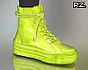 rz. Neon Green Sneakers