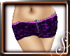 ! ! Kira Shorts - Purple