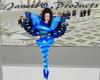 Tanika blue butterfly