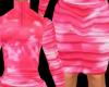 Baby Pink ZipUp Dress