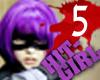 HIT-GIRL [5] mask