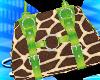 [sl]GiraffeHandbag Lime