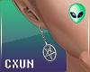 Satan Earrings M | L+R