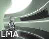 Robot in entry BG