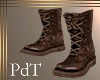 PdT Brown Field Boots M