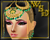 Green Beaded Headdress