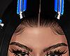 Hair clips BLUE