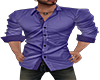 Purple Button Down
