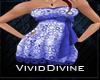 [D] Blue Party Dress