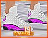 ! Pink Modern Sneakers F
