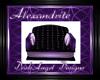 Alexandrite Cuddle Chair